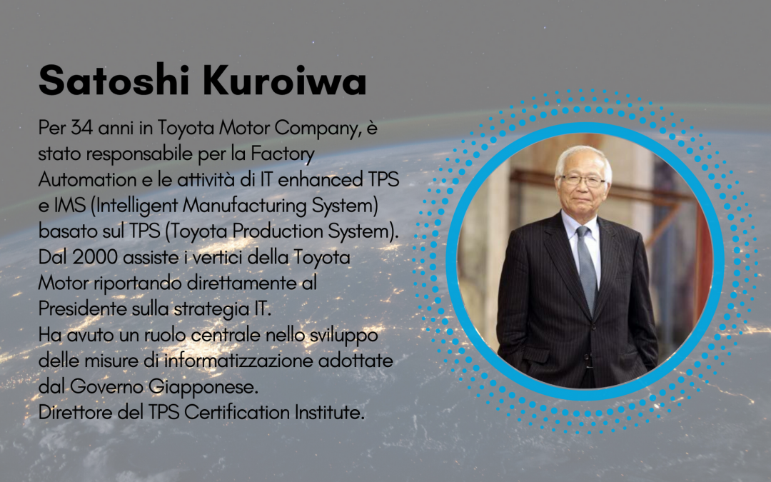 SOCIETY 5.0: I·CENTER INCONTRA SATOSHI KUROIWA PER RACCONTARE LA SOCIETÀ DEL FUTURO